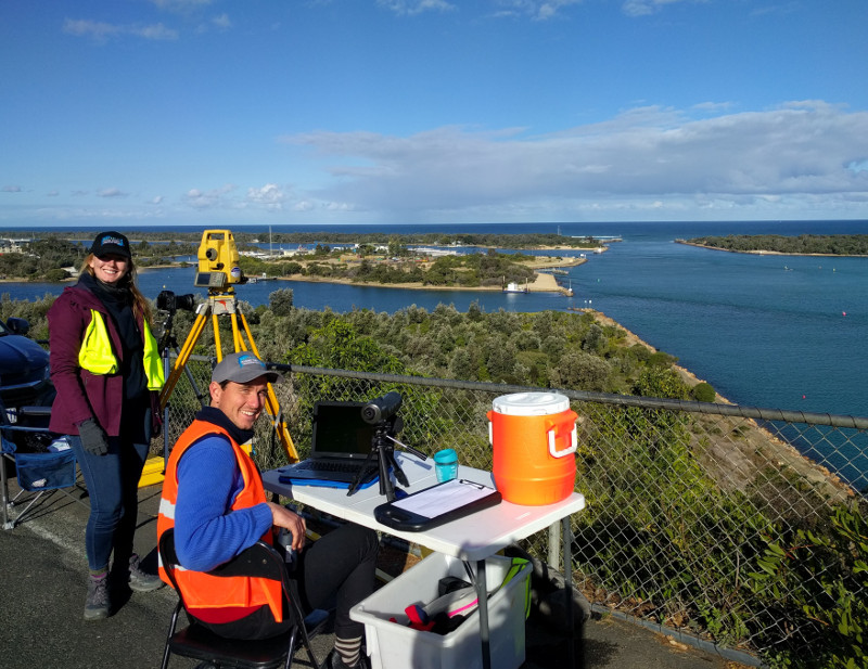 Tracking the Burrunan Dolphin at Kalimna lookout