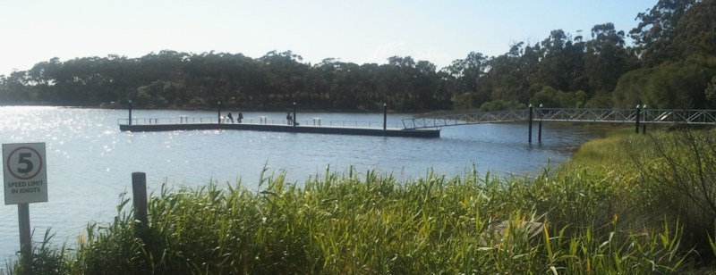 Lake Tyers, Fishermans Landing Fishing Jetty