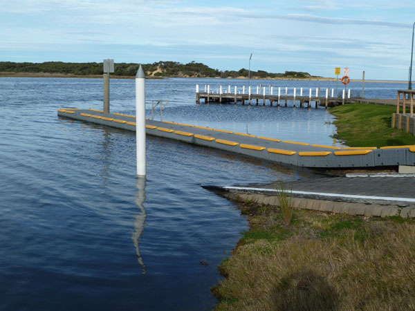 Lake Tyers Beach #2 Boat Ramp and Jetty