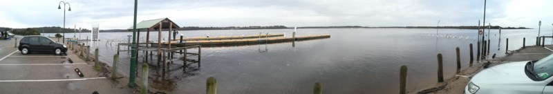 Boat Ramp Number 2 August 8 Lake  Tyers 2015