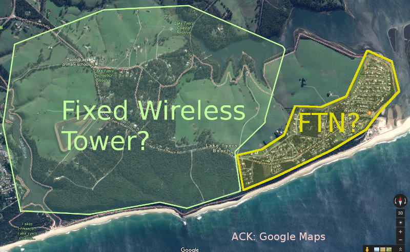 My Guess at NBN at Lake Tyers Beach Apr 2016