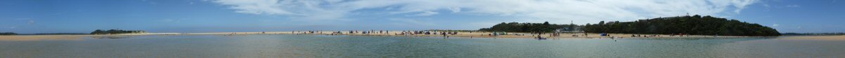 Panorama 2011 Lake Tyers Beach 2011
