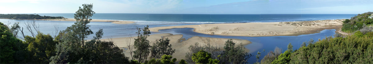 Lake Tyers Beach Opening 2011-08-11