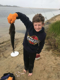 Blake's PB at Lake Tyers Beach