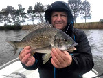 Frank (Caltex) with a 40+ Bream Lake Tyers