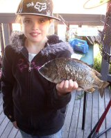 Naomia and her Bream