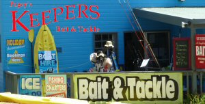 Keepers Fishing Tackle and Baits Lake Tyers